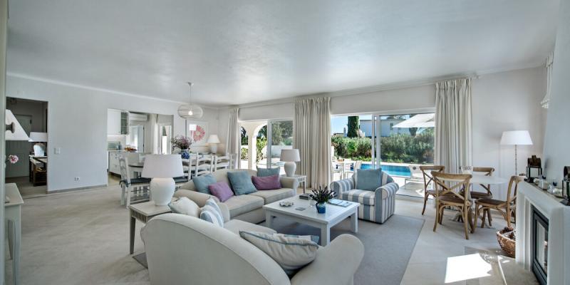 Living Area in Villa Florabella in the Algarve, Portugal